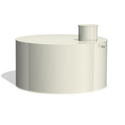 RITPOLY álló hengeres műanyag esővíztartály 1-15m3